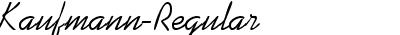 Kaufmann-Regular DB