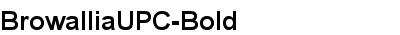 BrowalliaUPC-Bold