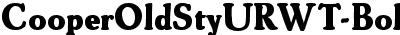 CooperOldStyURWT-Bold
