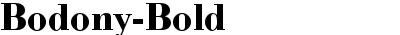 Bodony-Bold