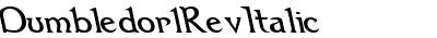 Dumbledor 1 Rev Italic