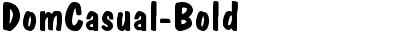 DomCasual-Bold