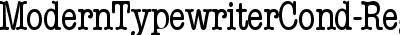 ModernTypewriterCond-Regu...