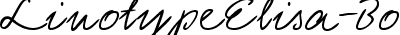 LinotypeElisa-Bold