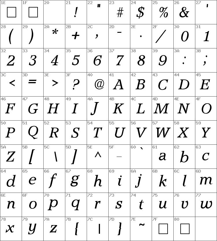 Accolade-Italic