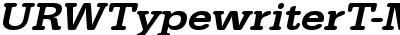 URWTypewriterT-MediExtrWi...