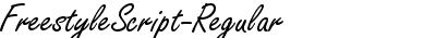 FreestyleScript-Regular