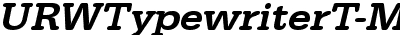 URWTypewriterT-MediWideOb...