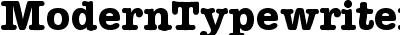 ModernTypewriter-Bold