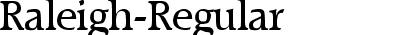 Raleigh-Regular