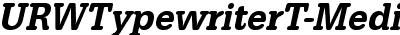 URWTypewriterT-MediExtrNa...