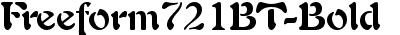 Freeform721BT-Bold