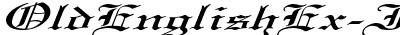 OldEnglishEx-Italic