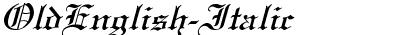 OldEnglish-Italic