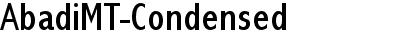 Abadi MT Condensed
