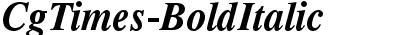 CgTimes-BoldItalic
