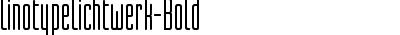 LinotypeLichtwerk-Bold
