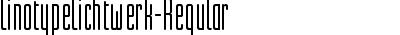 LinotypeLichtwerk-Regular