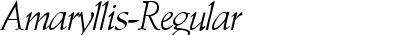 Amaryllis-Regular DB