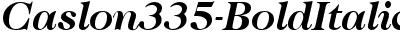 Caslon335-BoldItalic