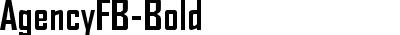 AgencyFB-Bold