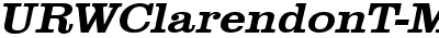 URWClarendonT-MediExtrWid...