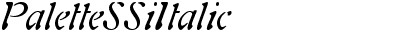 PaletteSSiItalic