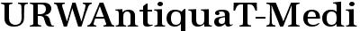 URWAntiquaT-Medi