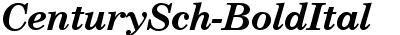CenturySch-BoldItal