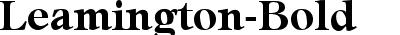 Leamington-Bold