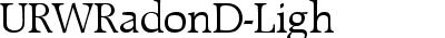URWRadonD-Ligh
