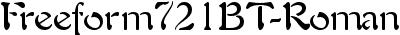 Freeform721BT-Roman