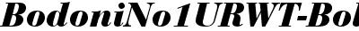 BodoniNo1URWT-BoldItal