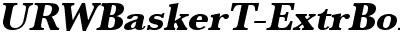URWBaskerT-ExtrBoldObli