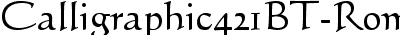 Calligraphic421BT-RomanB