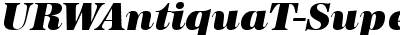 URWAntiquaTSup Italic