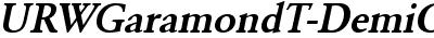 URWGaramondT-DemiObli