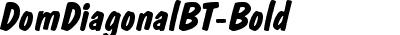 DomDiagonalBT-Bold