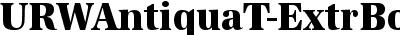 URWAntiquaT-ExtrBoldExtrN...