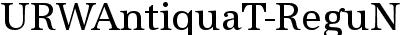 URWAntiquaT-ReguNarr
