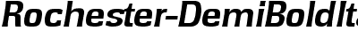 Rochester-DemiBoldItalic