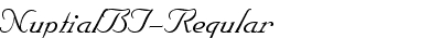 NuptialBT-Regular