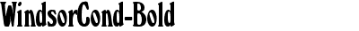 WindsorCond-Bold