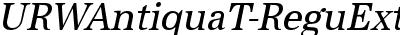 URWAntiquaT-ReguExtrNarrO...