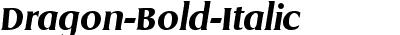 Dragon-Bold-Italic