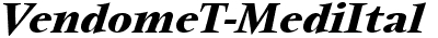 VendomeTMed Italic