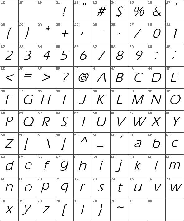 Eras-Italic