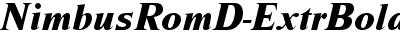 NimbusRomDExtBol Italic