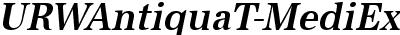 URWAntiquaT-MediExtrNarrO...