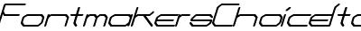 FontmakersChoiceItalic